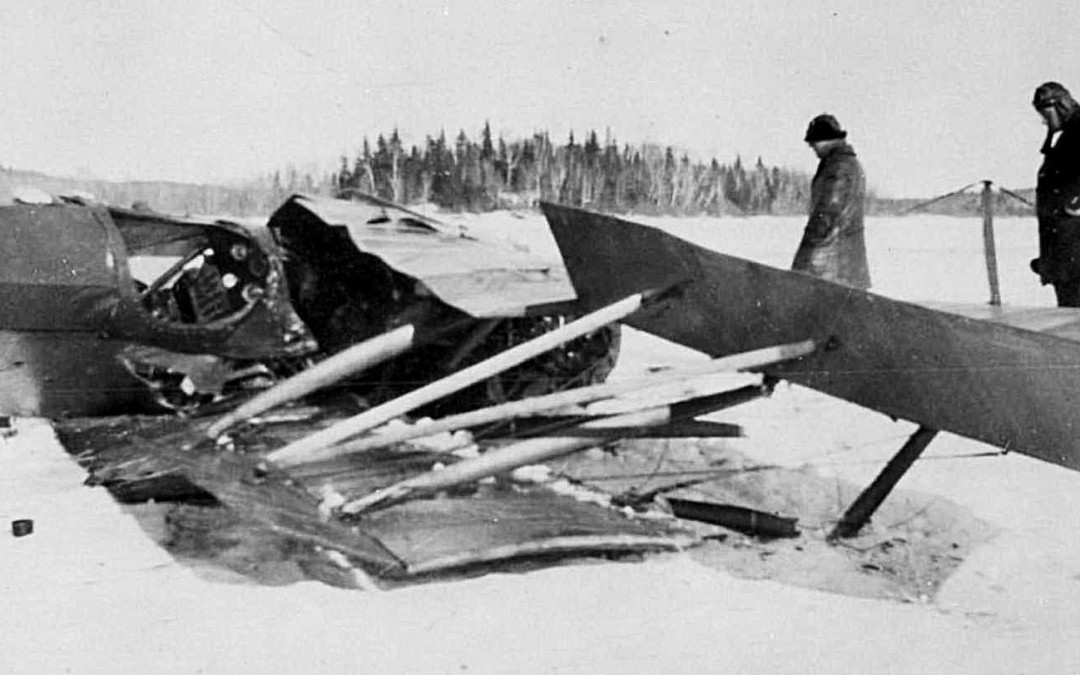 Narrow Escape at Red Lake — 1926