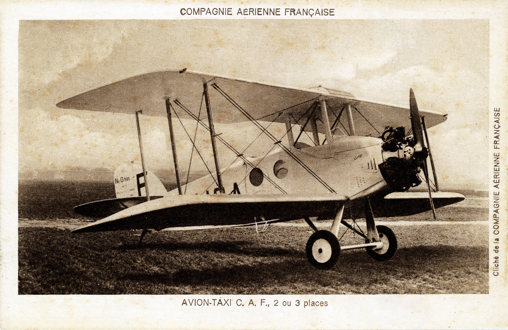 French Biplane Sinks During Montréal Inspection