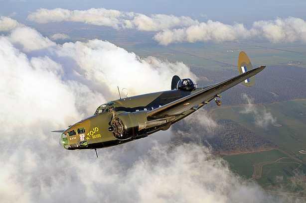 Lockheed Hudson at Point Cook, Australia